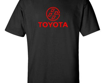 TOYOTA 86 GT Motor T-shirt Graphic Tee *Free SHIPPING*