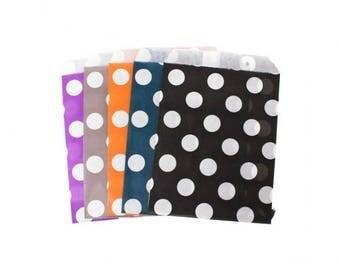 Polka dot paper 18.4x13cm 20 pouches