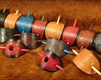 Handmade barrettes (hair slides)