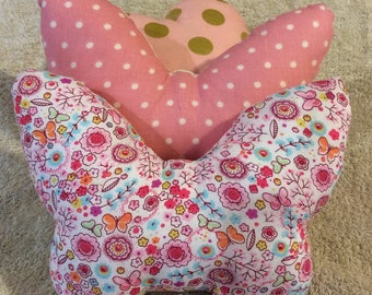 reduced price! Bebe.Papillon Mini cushion blanket for crib.