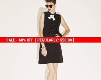 60% OFF SALE Black Mini Skirt, A Line Skirt, High Waisted Skirt, Jersey Skirt, Black Minimalist Fashion, High Fashion, Womens Summer