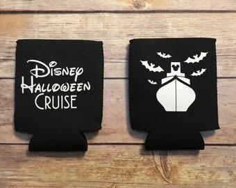 Disney Halloween cruise Can or Bottle Hugger