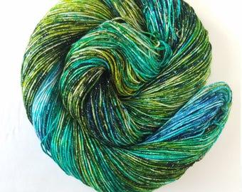 Sea Turtles ,   hand painted indie yarn