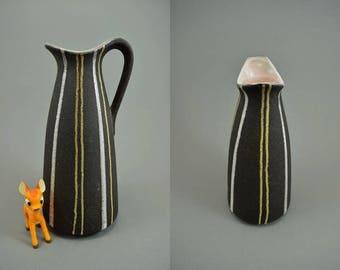 Vintage vase / Wächtersbach / Decor Nizza   West Germany   WGP   50s