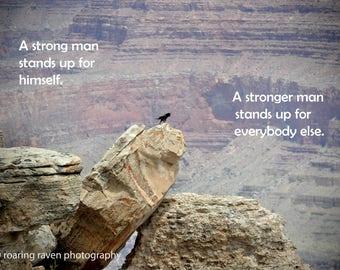 Inspirational Photo Raven Bravery