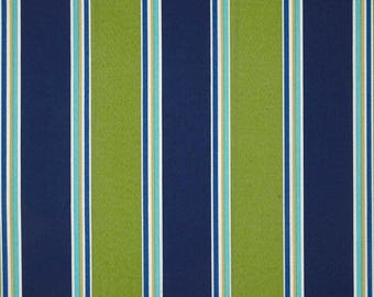 Maco Indoor/Outdoor Coach Stripe Wasabi - 4 yards