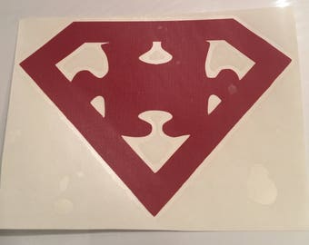 Autism Superman - 5-inch Decal