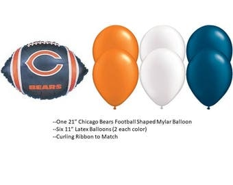 Chicago Bears Balloons