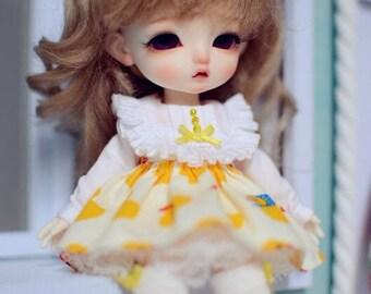Handmade Lati yellow / Luts body Outfit, Lati yellow / Luts body Dress