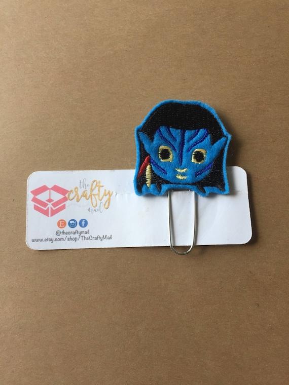 Avatar Clip/Planner Clip/Bookmark. Avatar planner clip. Character planner clip. Female avatar