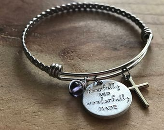 Confirmation gifts for girls girls confirmation gifts daughter gift from mom bible verse bangle confirmation bracelet custom silver bangle