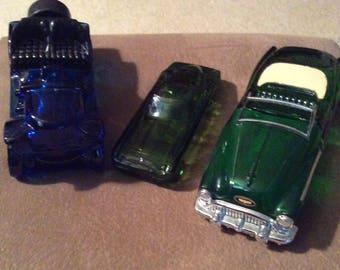 Avon Collectible Glass Cars