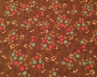 Late Bloomers by Sandy Gervais 100% cotton quilt sewing moda Fabric bthy half 1/2 yard