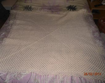 granny baby blanket, plaid.