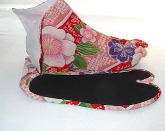 Authentic Japanese Tabi socks, 4 clasp 23.5 cm