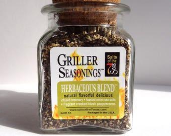 Griller Seasoning; Herbaceous