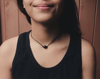 Black Pearl Choker, Beaded Choker Necklace, Choker Necklace, Chokers, Pearl Necklace.