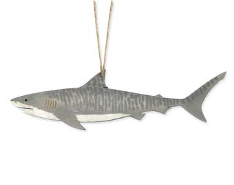 Tiger Shark Christmas Ornament