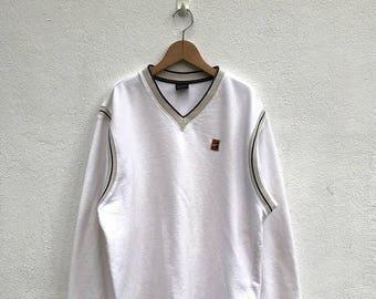 20% OFF Vintage Nike Embroidery Classic Logo Pullover/Vintage Nike Baseball Sweatshirt/Nike Sweater/Nike Air Jordan/Nike Oregon