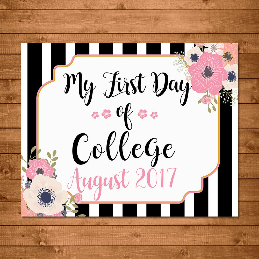my first day of college 2 7 things to know before your first college class while those two things may still occur on the first day of college classes.