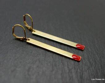 Earrings match earrings