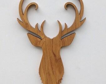 Deer Head Trophy - Oak Stag