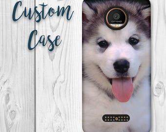 Motorola Moto Z Force Case - Moto Z Droid Case - XT1650 Case #Custom Photo Case, Design Your Own Personalized Case, Monogrammed Phone