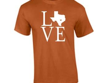 I love Texas Longhorns T Shirt