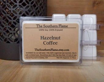 4 Packs of Hazelnut Coffee Melts - Free Shipping - Wax Cubes - Wax Tarts - Warmer Melts - Stocking Stuffers