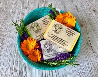 Goats milk soap best sellers set