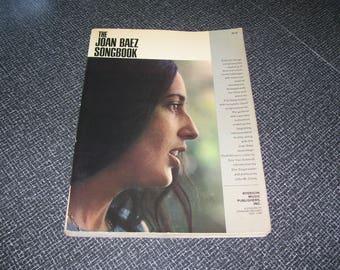 The Joan Baez Songbook Pb 3rd Printing 1965 Vintage