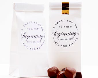 25+ Candy Favor Bags, Wedding Favors, Favor Labels, Candy Buffet, Dessert Buffet, Cookie Bag, Wedding Favor Bags, Candy Bags, Popcorn Bag