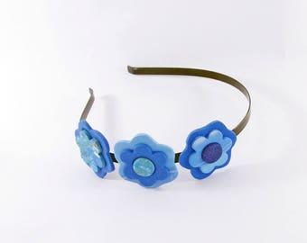 Headband 3 flowers