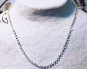 Chain for children jewelry round trace gastyne workshop