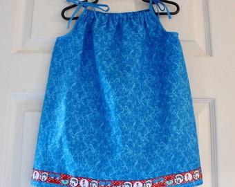Dr. Seuss Things pillowcase dress size 2