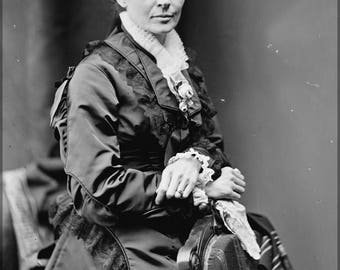 Poster, Many Sizes Available; Lucretia Garfield
