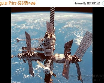20% Off Sale - Poster, Many Sizes Available; Mir Space Station