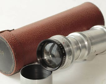 Lens Meyer-Optik Görlitz Telemegor 1:5.5/250 red V lens 15 blades N1123069