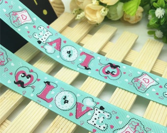 Ribbon love (1 m) 25mm