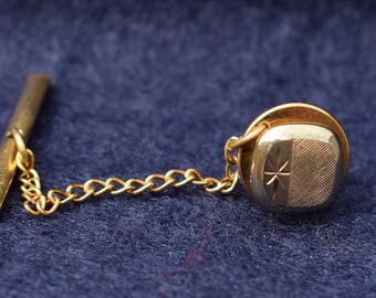1960's Vintage Gold Coloured Tie Tack/Pin