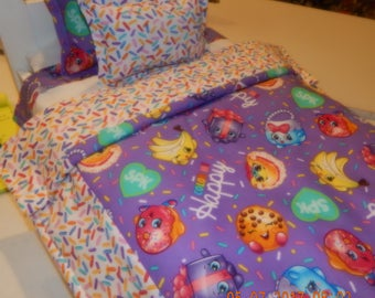 Doll Bedding - Shopkins