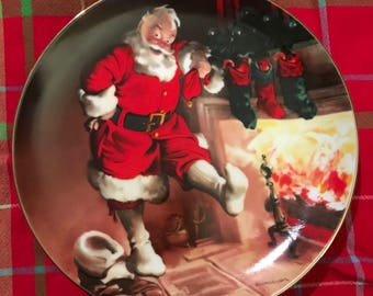 Edwin M. Knowles 1989 Christmas Collectors Plate