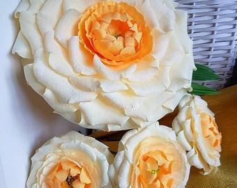 Huge giant paper flower, Shower paper flower,Bloom Floral Wedding Accessory, Original Botanical Design flower, Giant Flower bridesmaid