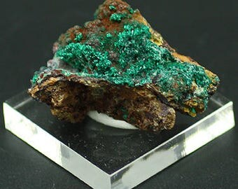 Pseudomalachite crystals, Chile - Mineral Specimen for Sale