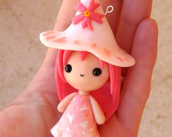 Blossy Witchy WITCHIES COLLECTION Kawaii Necklace Keychain or Figure