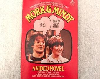 Vintage Mork & Mindy Book