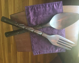 Giant Fork and Spoon