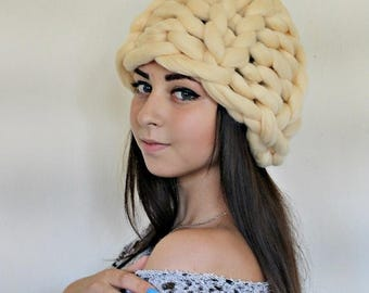 SUMMER SALE Womens Hats, Knitted Hat, Chunky knit Hat, Slouchy Beanie, Slouch Hat, Winter Hat, Hand Knit Hat Women, Knit Hat Woman,