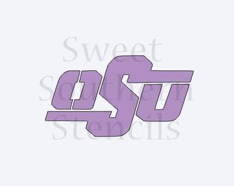 Sports Logo Cookie Stencil