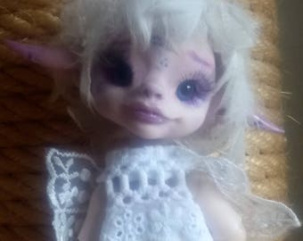 OOAK BJD Art Doll Fairy Elv Ice